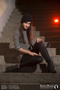 Siegershooting - Stagamodels 2015, Haare & Makeup: Tina Weidinger - Tina's Crazycut (Germannsdorf/Hauzenberg); Model: Jasmin Pavlik